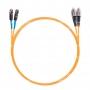 Шнур оптическийdpc MU/UPC-FC/UPC62.5/125 2.0мм 10м LSZH (патч-корд)