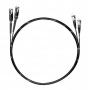 Шнур оптический dpc MU/UPC-LC/UPC62.5/125 2.0мм 2м черный LSZH (патч-корд)