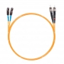 Шнур оптическийdpc MU/UPC-ST/UPC62.5/125 2.0мм 10м LSZH (патч-корд)