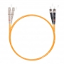 Шнур оптический dpc SC/UPC-ST/UPC 62.5/125 3.0мм 3м LSZH (патч-корд)