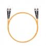 Шнур оптический dpc ST/UPC-ST/UPC 62.5/125 3.0мм 2м LSZH (патч-корд)
