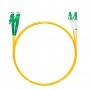 Шнур оптический dpc E2000/APC-LC/APC9/125 3.0мм 10м LSZH (патч-корд)