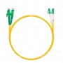 Шнур оптический dpc E2000/APC-LC/APC9/125 3.0мм 1м LSZH (патч-корд)