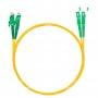 Шнур оптический dpc E2000/APC-SC/APC9/125 3.0мм 15м LSZH (патч-корд)