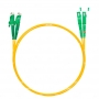 Шнур оптический dpc E2000/APC-SC/APC9/125 3.0мм 1м LSZH (патч-корд)