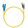 Шнур оптический dpc E2000/UPC-FC/UPC9/125 3.0мм 15м LSZH (патч-корд)