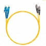 Шнур оптический dpc E2000/UPC-FC/UPC9/125 3.0мм 2м LSZH (патч-корд)