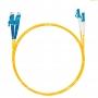 Шнур оптический dpc E2000/UPC-LC/UPC9/125 3.0мм 15м LSZH (патч-корд)