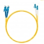 Шнур оптический dpc E2000/UPC-LC/UPC9/125 3.0мм 1м LSZH (патч-корд)