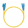 Шнур оптический dpc E2000/UPC-SC/UPC9/125 3.0мм 15м LSZH (патч-корд)