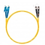 Шнур оптический dpc E2000/UPC-ST/UPC9/125 3.0мм 1м LSZH (патч-корд)