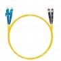 Шнур оптический dpc E2000/UPC-ST/UPC9/125 3.0мм 2м LSZH (патч-корд)