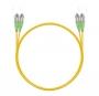 Шнур оптический dpc FC/APC-FC/APC 9/125 3.0мм 5м LSZH (патч-корд)