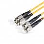 Шнур оптический dpc FC/UPC-ST/UPC 9/125 3.0мм 2м LSZH (патч-корд)