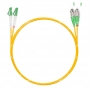 Шнур оптическийdpc LC/APC-FC/APC9/125 3.0мм 2м LSZH (патч-корд)