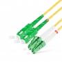 Шнур оптическийdpc LC/APC-SC/APC9/125 3.0мм 20м LSZH (патч-корд)