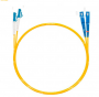 Шнур оптическийdpc LC/UPC-SC/UPC9/125 3.0мм 15м LSZH (патч-корд)