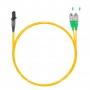 Шнур оптический dpc MTRJ/female-FC/APC9/125 2.0мм 1м LSZH (патч-корд)