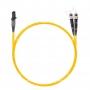 Шнур оптическийdpc MTRJ/female-ST/UPC9/125 2.0мм 3м LSZH (патч-корд)