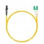Шнур оптическийdpc MTRJ/male-LC/APC9/125 2.0мм 2м LSZH (патч-корд)
