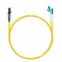 Шнур оптический dpc MTRJ/male-LC/UPC9/125 2.0мм 15м LSZH (патч-корд)