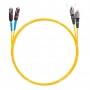 Шнур оптическийdpc MU/UPC-FC/UPC9/125 2.0мм 5м LSZH (патч-корд)