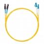 Шнур оптическийdpc MU/UPC-LC/UPC9/125 2.0мм 10м LSZH (патч-корд)