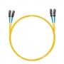Шнур оптический dpc MU/UPC-MU/UPC 9/125 2.0мм 3м LSZH (патч-корд)