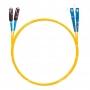Шнур оптическийdpc MU/UPC-SC/UPC9/125 2.0мм 15м LSZH (патч-корд)