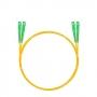 Шнур оптический dpc SC/APC-SC/APC 9/125 3.0мм 3м LSZH (патч-корд)