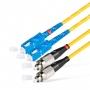 Шнур оптический dpc SC/UPC-FC/UPC 9/125 3.0мм 1м LSZH (патч-корд)