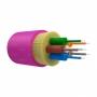 Оптический кабель распределительный, OM4, 50/125, 6 волокон, LSZH, оранжевый