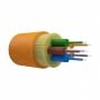 Оптический кабель распределительный, OM1, 62.5/125, 6 волокон, LSZH, оранжевый