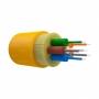 Оптический кабель распределительный, OS2, 9/125, 6 волокон, LSZH, оранжевый