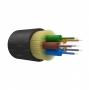 Оптический кабель IN/OUT, OM3, 50/125, 6 волокон, LSZH, черный