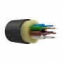 Оптический кабель IN/OUT, OS2, 9/125, 8 волокон, LSZH, черный