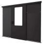 Дверь автоматическая одностворчатая в комплекте с рамой 600x2142 мм