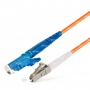 Шнур оптический spc E2000/UPC-LC/UPC50/125 3.0мм 1м LSZH (патч-корд)
