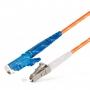 Шнур оптический spc E2000/UPC-LC/UPC50/125 3.0мм 3м LSZH (патч-корд)