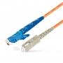 Шнур оптический spc E2000/UPC-SC/UPC50/125 3.0мм 1м LSZH (патч-корд)