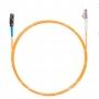Шнур оптическийspc MU/UPC-LC/UPC50/125 2.0мм 15м LSZH (патч-корд)