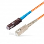 Шнур оптическийspc MU/UPC-SC/UPC50/125 2.0мм 10м LSZH (патч-корд)