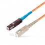 Шнур оптическийspc MU/UPC-SC/UPC50/125 2.0мм 1м LSZH (патч-корд)