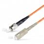 Шнур оптический spc SC/UPC-ST/UPC 50/125 3.0мм 3м LSZH (патч-корд)