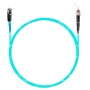 Шнур оптический spc MU/UPC-ST/UPC50/125 ОМ3 2.0мм 2м LSZH (патч-корд)