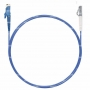 Шнур оптический spc E2000/UPC-LC/UPC50/125 ОМ4 3.0мм 10м LSZH (патч-корд)