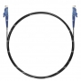 Шнур оптический spc E2000/UPC-E2000/UPC 62.5/125 3.0мм 2м черный LSZH (патч-корд)