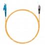 Шнур оптический spc E2000/UPC-FC/UPC62.5/125 3.0мм 1м LSZH (патч-корд)