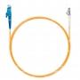 Шнур оптический spc E2000/UPC-LC/UPC62.5/125 3.0мм 1м LSZH (патч-корд)