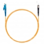 Шнур оптический spc E2000/UPC-ST/UPC62.5/125 3.0мм 1м LSZH (патч-корд)